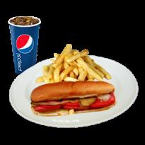 Hot Dog Menü